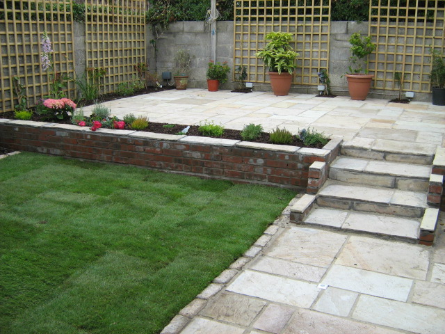Landscaping example by david ward